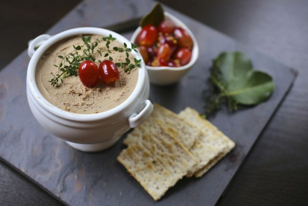 Chicken Liver Pâté with Thyme and Brandy
