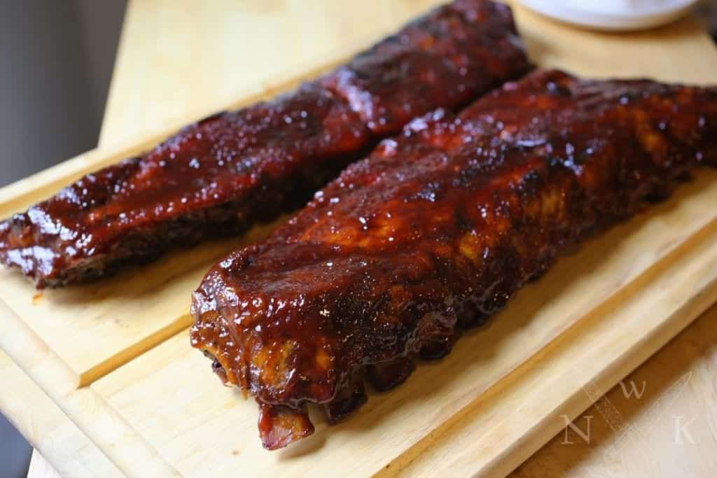 Bourbon Honey Glazed Ribs