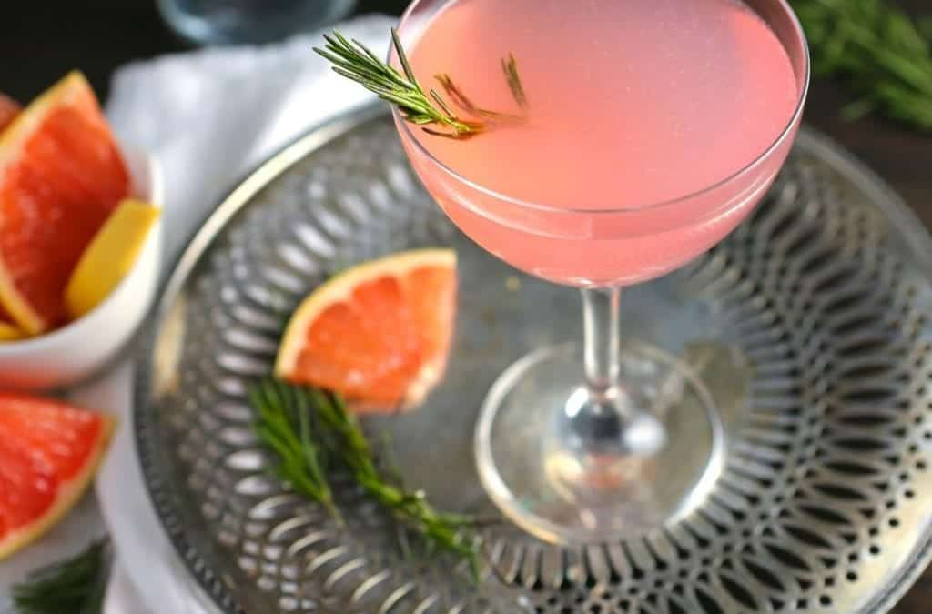 The French Tart – Grapefruit and Rosemary Cocktail