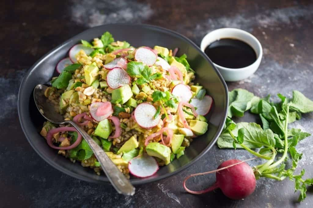 Teriyaki Brown Rice Salad