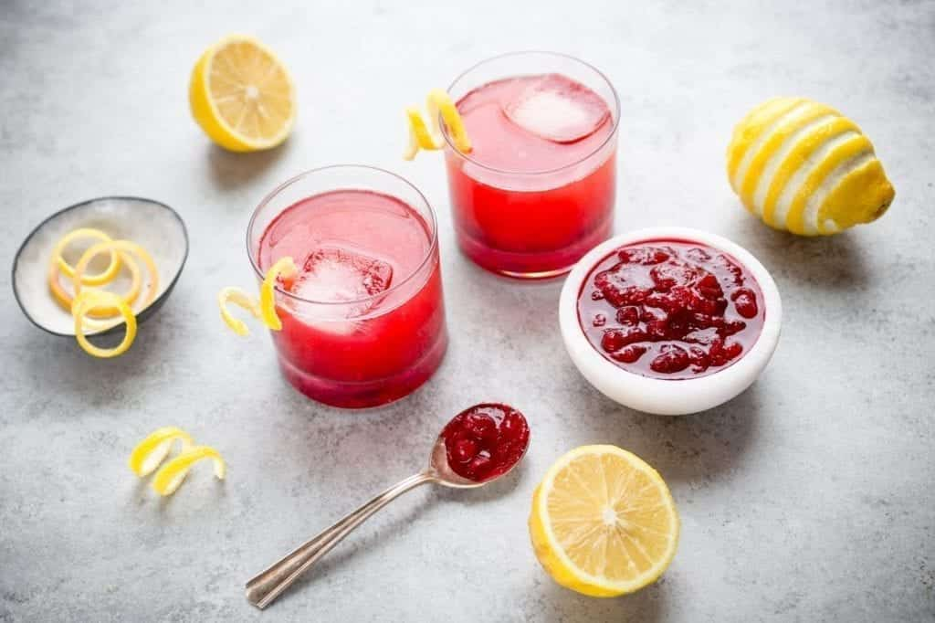 Cranberry Sauce Whisky Cocktail