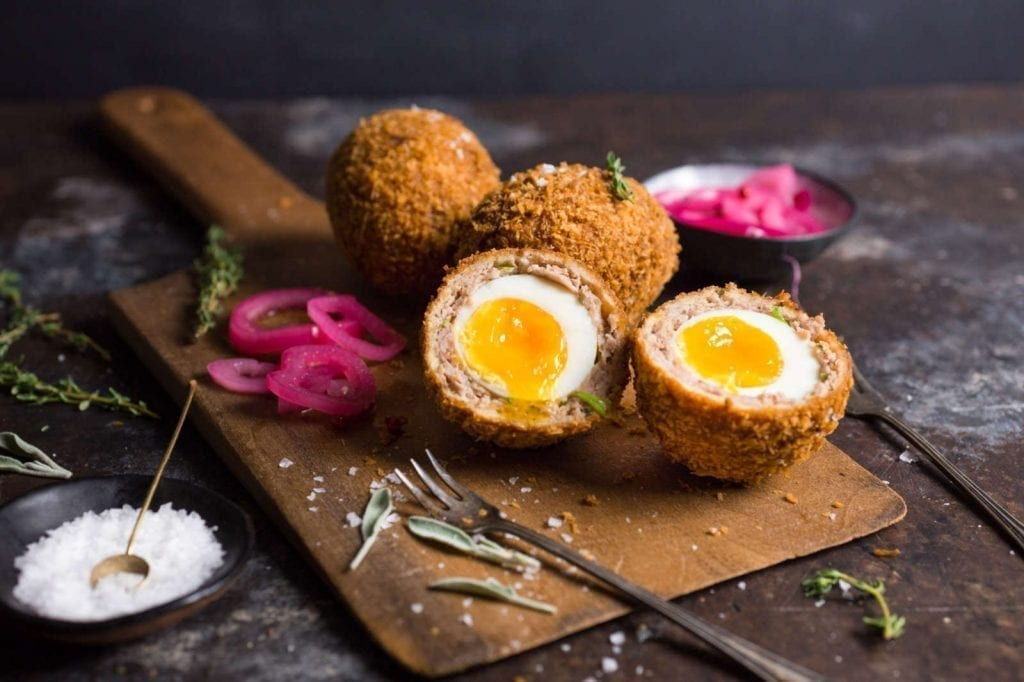 Scotch Eggs with a Perfect Runny Yolk