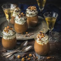 Chocolate Frangelico Mousse — a Christmas Peek from Cork and Knife